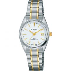 Pulsar PH7441X Two-Tone Stainless Steel Womens Watch