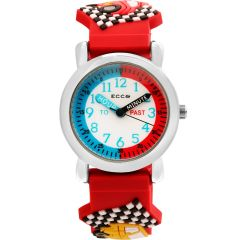ECC Cars Strap Kids Watch