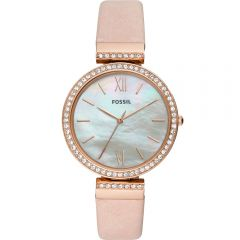 Fossil Madeline ES4537 Blush Leather Womens Watch