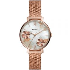 Fossil Jacqueline ES4534 Rose Stainless Steel Womens Watch