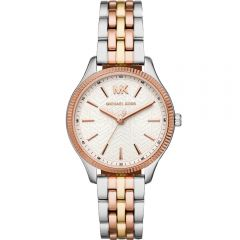 Michael Kors Lexington MK6642 Rose and Silver Stainless Steel Womens Watch