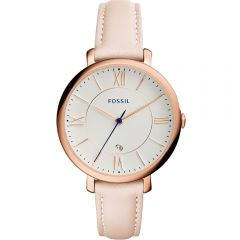 Fossil Jacqueline ES3988 Pink Leather Womens Watch
