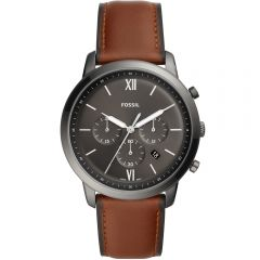 Fossil Neutra Chronograph FS5512 Brown Leather Mens Watch