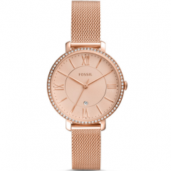Fossil Jacqueline ES4628 Rose Gold Stainless Steel Womens Watch