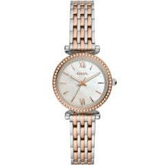 Fossil Carlie Mini ES4649 Two-Tone Stainless Steel Womens Watch