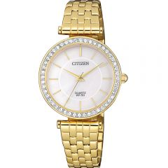 Citizen ER0212-50D Swarovski Gold Stainless Steel Womens Watch