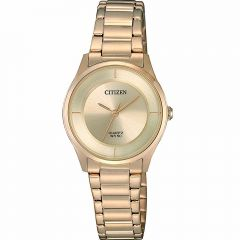 Citizen ER0205-80X Gold Stainless Steel Womens Watch