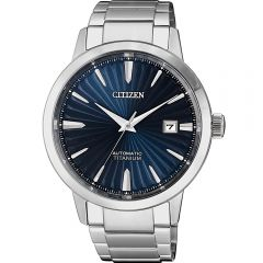 Citizen Super Titanium NJ2180-89L Silver Titanium Mens Watch