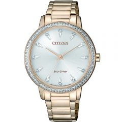 Citizen FE7043-55A Rose Gold Stainless Steel Womens Watch