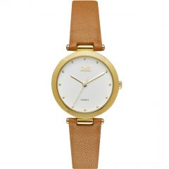Jag Isla J2257 Brown Leather Womens Watch