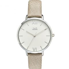 Jag Sophie J2258 Grey Leather Womens Watch