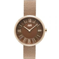 Jag Charlotte J2263A Rose Gold Stainless Steel Womens Watch