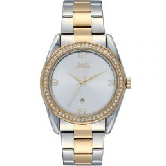 JAG Brooke J2139A Two Tone Stainless Steel Womens Watch