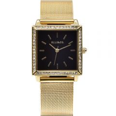 Ellis & Co Jayde Stainless Steel Mesh Womens Watch