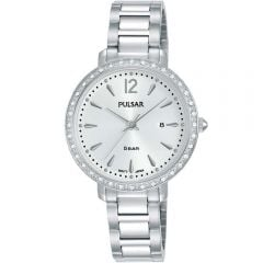 Pulsar PH7511X Swarovski Case Stainless Steel Ladies Watch