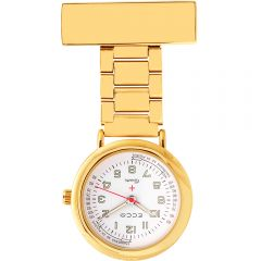 ECC Nurses Fob Watch Steel Links