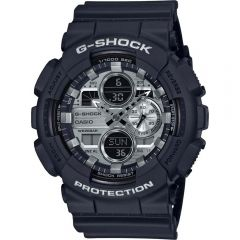 Casio G-Shock GA-140GM-1A1DR Black Resin Mens Watch