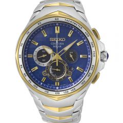 Seiko Coutura SSC750P Solar Chronograph Mens Watch