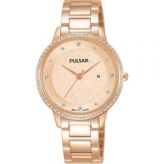 Pulsar COP9122 Swarovski Crystals Womens Watch