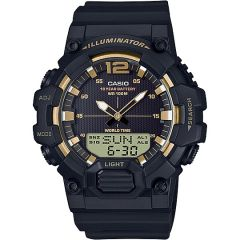 Casio World time HDC700-9A Analogue Digital Mens Watch