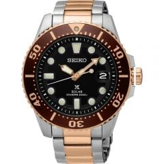 Seiko SNE566P Prospex Solar Mens Watch inc Extra Band