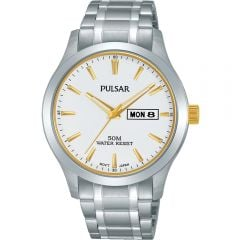 Pulsar PV3015X Silver Mens Watch