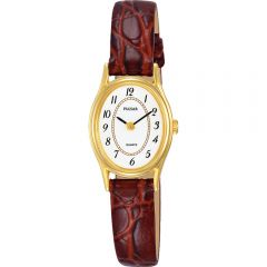 Pulsar PPGD76X Tan Leather Womens Watch