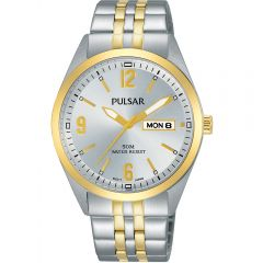 Pulsar PV3012X Silver Mens Watch