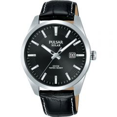 Pulsar PX3185X Black Strap Mens Watch