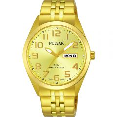 Pulsar PV3010X Gold Mens Watch
