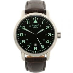 Aviator Aircobra V.1.11.0.038.4 Brown Mens Watch