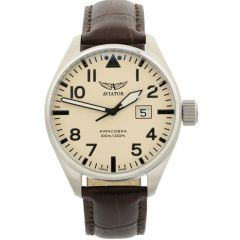 Aviator Airacobra P42 V.1.22.0.190.4 Brown Mens Watch