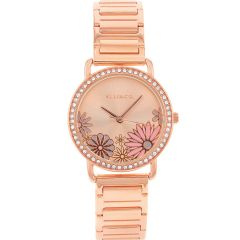 Ellis & Co 'Eden' Rose Gold Plated Women's Watch