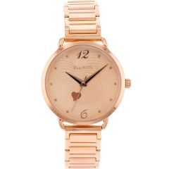 Ellis & Co 'Milana' Rose Gold Plated Women's watch