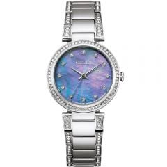 Citizen Eco-Drive Silver EM0840-59N Womens Watch