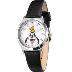Disney SPW005 Goofie Black Band Watch