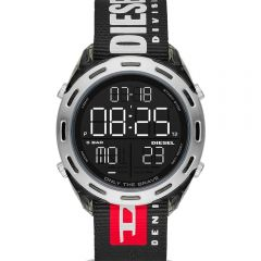 Diesel Crusher DZ1914 Digital Black Mens Watch