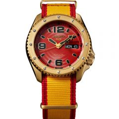 Seiko 5 SRPF24K Automatic Street Fighter Series 'ZANGIEF - Iron Cyclone'