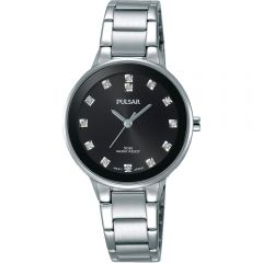 Pulsar PRS677X Stone Set Womens Watch