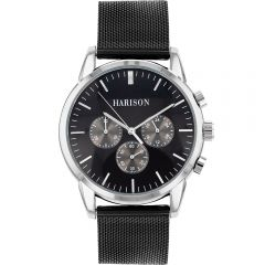 HARISON Stainless Steel Mesh Men's Watch