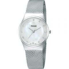 Pulsar PH8053X Silver Tone with Swarovski Crystal