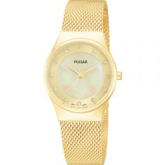 Pulsar PH8056X Gold Tone with Swarovski Crystal