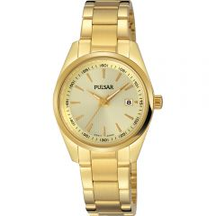 Pulsar PJ2020X Gold Tone Womens Watch
