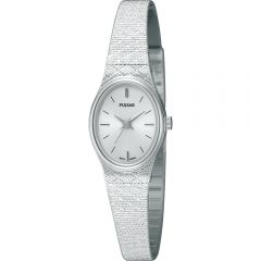 Pulsar PK3031X Silver Tone Womens Watch