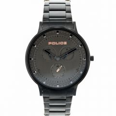 Police Berkeley Black Chronograph Mens Watch