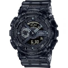 G-Shock GA110SKE-8A Transparent Series Black Mens