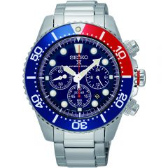 Seiko Solar SSC019P1 Chronograph Divers Mens Watch