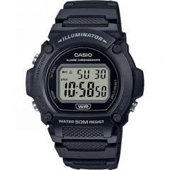 Casio W219H-1 50 Metres Water Resistant Digital Watch