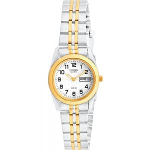 Citizen EQ0514-57A Womens Two Tone Watch