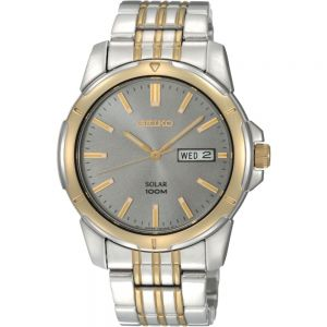 Seiko SNE098P-9 Solar WR100 Mens Watch